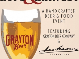 Join us on Thursday, October 23, at 5:30 p.m. for our annual Hops & Harvest handcrafted beer and food event, featuring Grayton Beer Company! Call us at 850-469-9898 for reservations! #jacksonsrestaurant #jacksonshops&harvest #downtownpcolaevents #graytonbeercompany