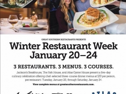 Don't forget to join us for Great Southern Restaurant Week! #joinus #jacksonsrestaurant #downtownPensacola #winterrestaurantweek #restaurantweek #pensacola #fishhousepensacola #atlasoysterhouse @colleenwilliams5