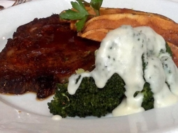 You've made it through half the work week so why not treat yourself to a delicious lunch here at Jackson's! We are open 11-2 and offering half priced bottles of wine from our Governor's list for Wine Down Wednesday.  Our Business Feature includes a blackened prime rib. This is served alongside potato wedges and broccoli florets with a fontina Béchamel sauce.  #BusinessFeature #jacksonsrestaurant #downtownPensacola #WineDownWednesday
