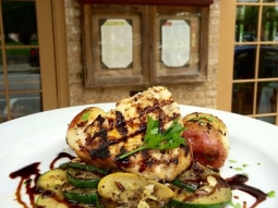 Good morning Downtown Pensacola come on over to Jacksons and join us for a lovely lunch this afternoon! Chef has prepared a delicious catch of the day: Grilled swordfish, seasoned new potatoes, fresh vegetable medley and balsamic drizzle.  #JacksonsRestaurant #VisitPensacola #VISITFLORIDA